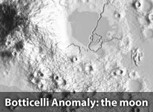 The Botticelli Anomaly on the moon