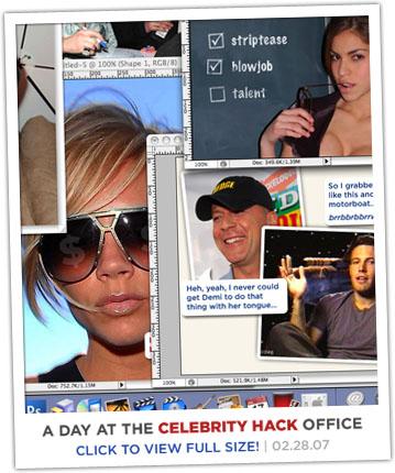 Celebrity Hack Photoshop Desktop