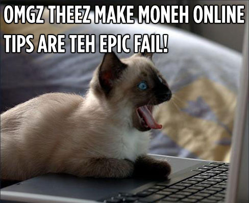 epic FAIL cat