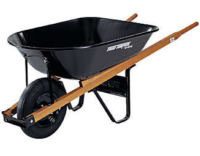 I mean it. A wheelbarrow full of cash.